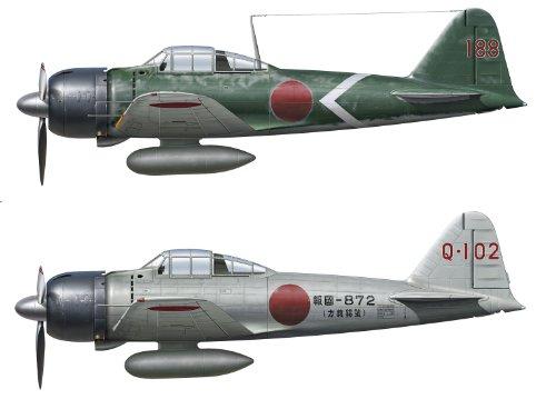 1/72 Mitsubishi A6M Zero de 22 pulgadas / 32 pulgadas