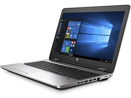 HP ProBook 650 G2 15,6 Zoll 1920x1080 Full HD Intel Core i5 256GB SSD (NEU) Festplatte 8GB Speicher Windows 10 Pro Webcam Fingerprint UMTS LTE Notebook (Zertifiziert und Generalüberholt)