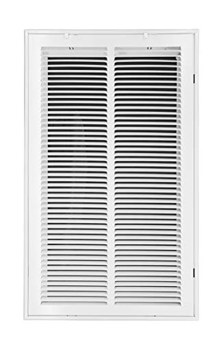 Venti Air 14' X 25' Steel Return Air Filter Grille - Free 2-3 Business Day Delivery [Outer Dimension: 16.5'W X 27.5' H]