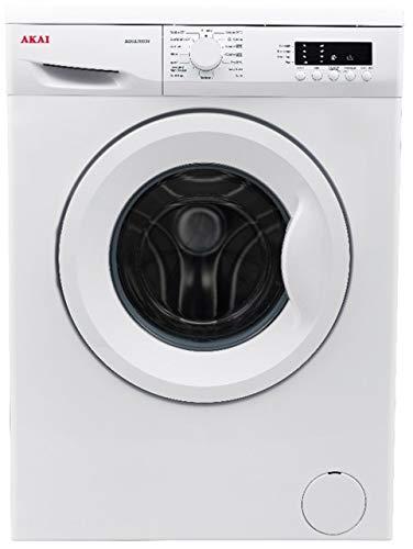 AKAI lavatrice AQUA8003V Libera installazione Caricamento frontale 8 kg 1000 Giri/min Classe A++ Colore Bianco