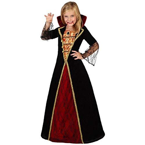 ATOSA Costume da Vampiressa Bambina Taglia L 7-9ANNI