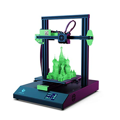 LABISTS 3D Printer with Touch Screen 220 x 220 x 250mm for PLA, ABS Filament, Auto Leveling, Filament Run out Detection, Fast Assembly and Fast Print, Power Failure Resume Print
