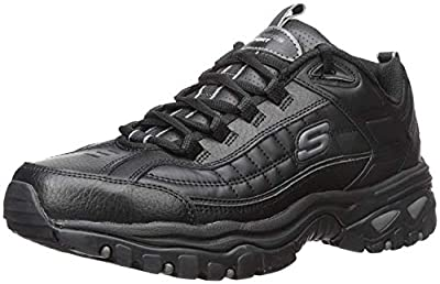 Skechers mens Energy Afterburn road running shoes, Black, 12 US