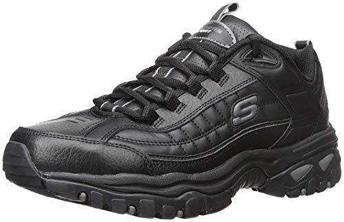 Skechers mens Energy Afterburn road running shoes, Black, 9.5 US