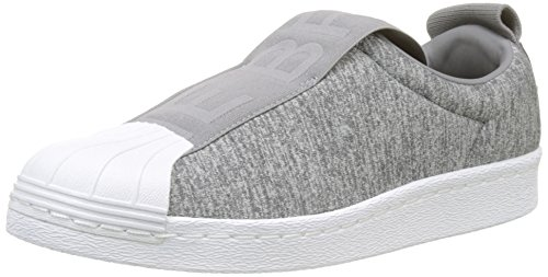 adidas Superstar, Zapatillas para Mujer, Gris (Grey Two F17/Grey Three F17/Ftwr White), 40 2/3 EU