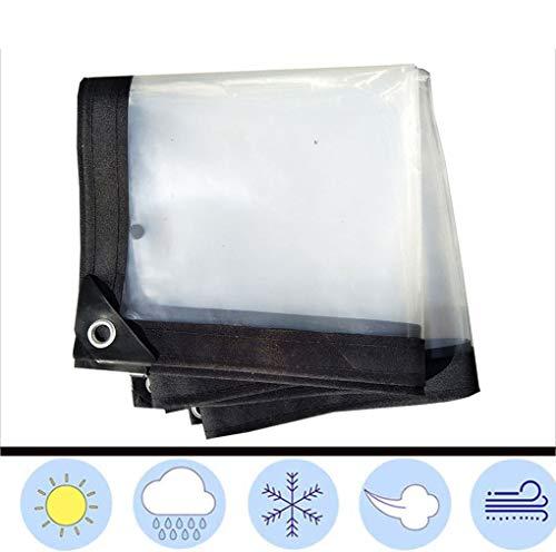 F-S-B helder dekzeil waterdicht, film met oogjes isolatie broeikasfilm luifel glas helder dekzeil - 120g/m2