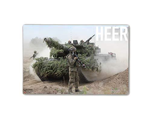 Copytec Poster M&N Pictures Bundeswehr HEER Infnaterie Leo Panzer Jäger ab30x20cm#30281, Farbe:Mehrfarbig, Poster Größen 8:119x79 cm
