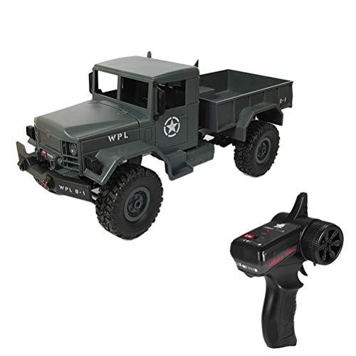 RC Militär LKW, Creamon WPLB 1:16 Mini Offroad RC Militär LKW Allradantrieb Klettern Fernbedienung Auto Spielzeug Geschenk Blau