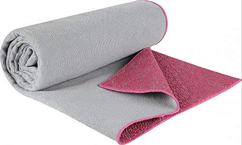 V3tec Yogahandtuch ECO - Handtuch Yoga Fitnesshandtuch Sporthandtuch Yogamatte Unterlage aus umweltfreundlichen PER-Material/Mikrofaser - 170 x 60cm
