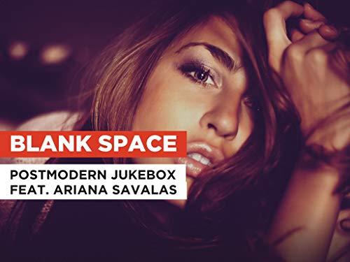 Blank Space al estilo de Postmodern Jukebox feat. Ariana Savalas