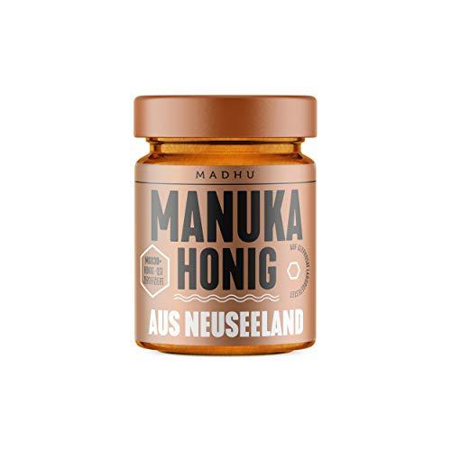 Manuka Honig 30+ MGO im hochwertigen Glas - Direkt vom Imker aus Neuseeland - zertifizierter Methylglyoxal-Gehalt (250g)