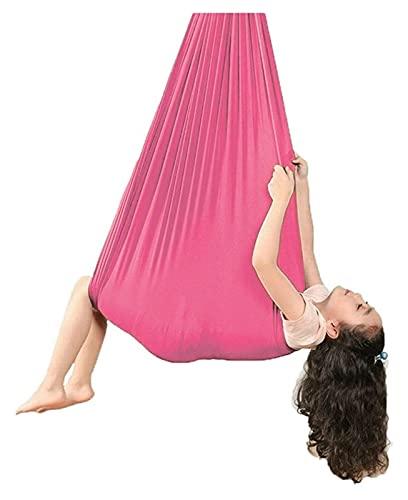 SHUHANG Columpio de terapia de interior con columpio de yoga activo con silla de carga para niños y adultos sensorial (color: B, tamaño: 700 x 280 cm)