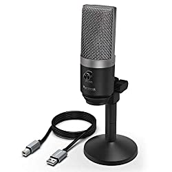 (Renewed) Fifine K670 PC Microphone for Windows and MAC for Recording, Streaming Twitch, Voice Overs, Skype and Podcasting for YouTube,Fifine,K670-cr