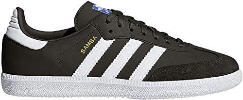 Adidas Unisex-Kinder Samba Og J Fitnessschuhe, Schwarz (Negro 000), 37 1/3 EU
