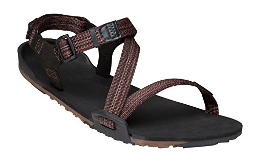 Xero Shoes Z-Trail - Travel-Friendly Lightweight Men's Hiking and Running Sandal - Barefoot-Inspired Minimalist Trail Sport Sandals Multi-Brown