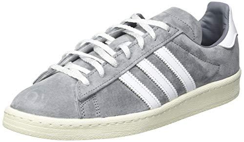 adidas Campus 80S, Sneaker Hombre, Grey/Footwear White/Off White, 40 2/3 EU