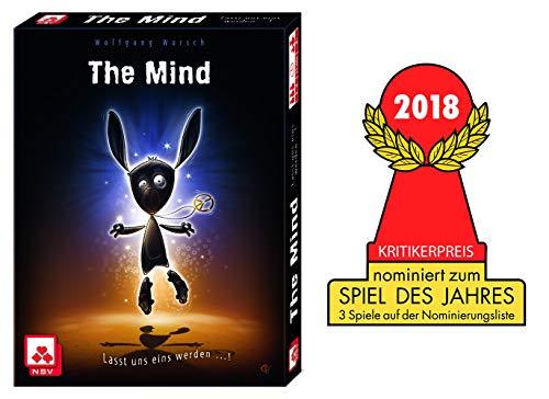 Nürnberger Spielkarten nsv–4059–The Mind–Juego de Cartas