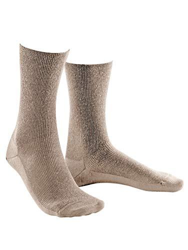 Weissbach Socken »Elite extra« Made in Germany beige