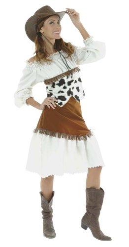 Cesar D338-005 - Disfraz de vaquera Lilly, talla 40