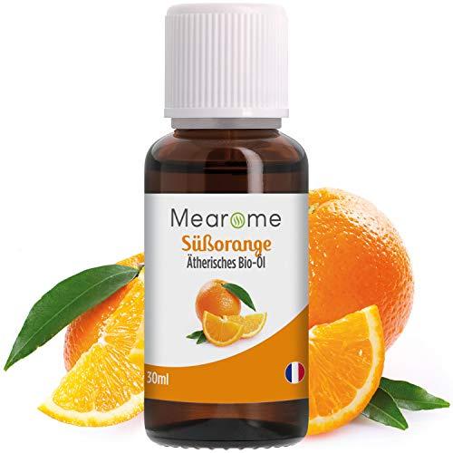Orangenöl BIO | Ätherisches Öl 100% Naturrein aus Süßorangen | Duft-Öl Orange für Duftlampe | Süßorangenöl Aroma zum Verzehr Aromatherapie Orangenaroma Diffuser Anti Stress Öl Zitrusfrüchte Vitamin C