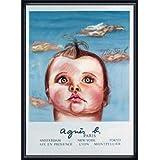 ポスター ダイアン シャネル Bebe Cruel (agnis b) 限定1000枚 額装品 ウッドハイグレードフレーム(ネイビー)