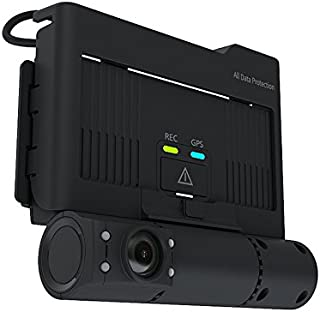 HDVD VTRACKPRO Car Dash Cam, GPS Tracking, up to 3 Channel HD Video/Audio Recording, Built-in 2CH Front and Cabin Unit, Car Black Box, WiFi, 128GB SD Card Included, max 256GB