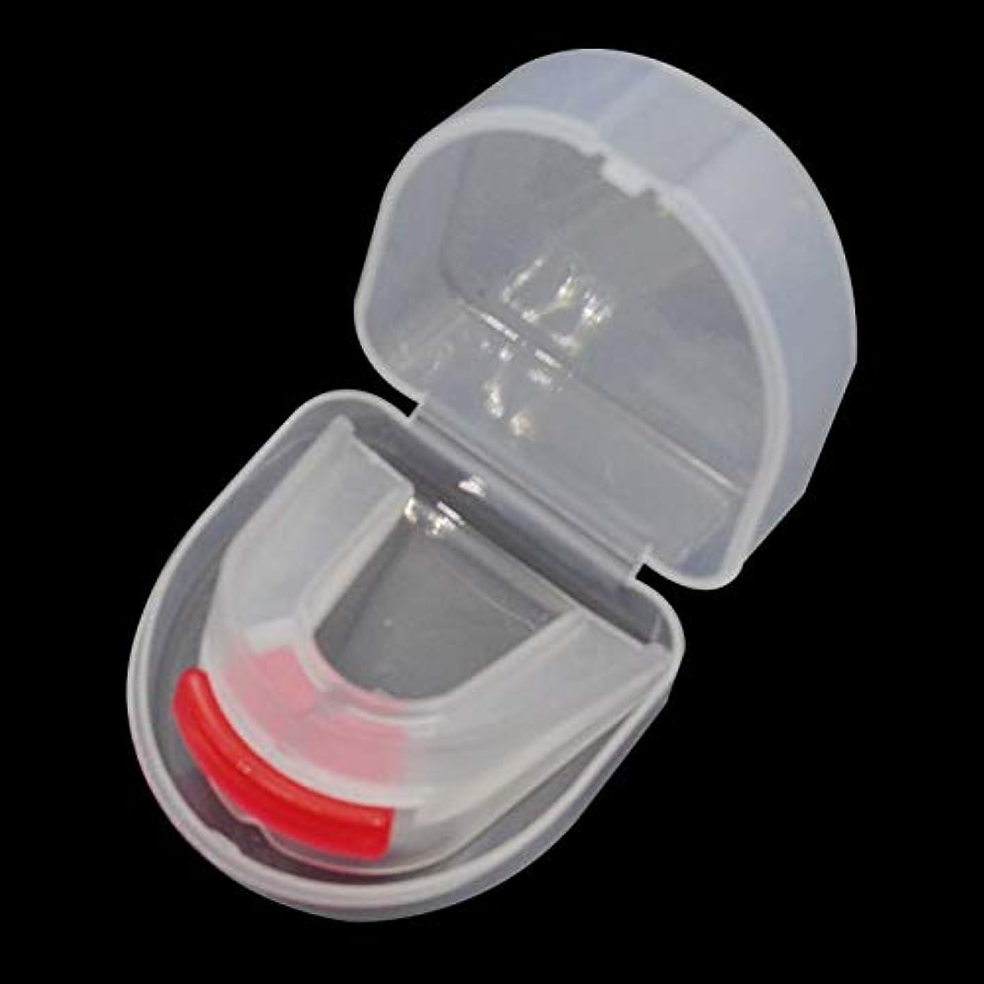 噴出する落胆させるピカソNOTE 1ピースマウスガードストップいびきアンチブラキシズムいびきマウスピース無呼吸ガード睡眠補助実用バンパーボクシングマウスガード `