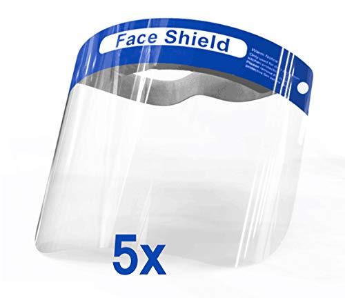 Gesichtsschutz-Schirm Visier Spuck-Schutz Face-Shield Schutzschild Gesichtsschirm (5)