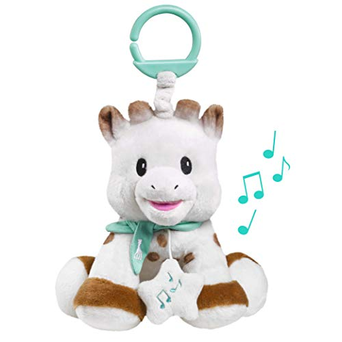 Sophie la Girafe Peluche Musicale avec Boite à Musique 20 cm, 010338