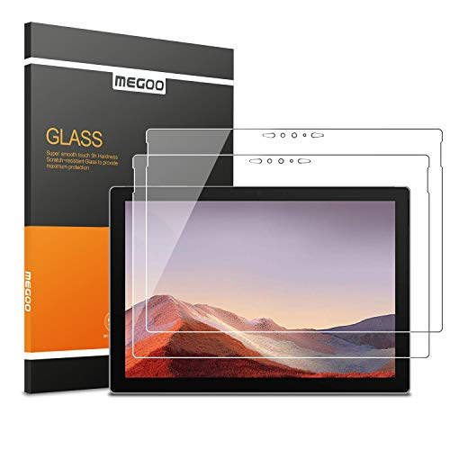 Cheap [2 Pack] MEGOO Screen Protector for New Surface Pro 7, Ultra Clear/High Response/Tempered Glas...