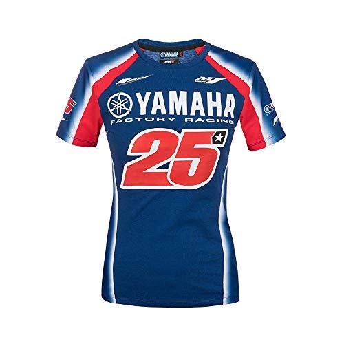 FC Venezia Yamaha Vinales Camiseta, Mujer, Multicolor, M
