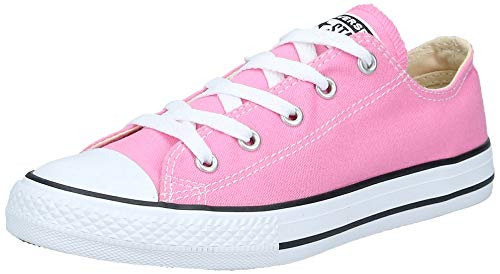 Converse Clothing & Apparel Chuck Taylor All Star Low Top Kids Sneaker, Pink, 34