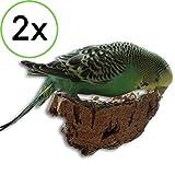 2 x Kork-Pickstein. Die leckere Alternative zum Mineralstein oder Sepia-Schale