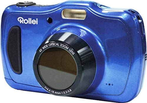 Rollei Sportsline 100 Digitale Kompaktkamera Blau