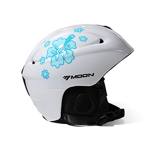 ZCPDP Ski Helm ABS & EPS Materiaal Snowboard Helm Controleerbare Ventilatie, Fluwelen Oordopjes en Voering Unisex, Verstelbare Hoofdomtrek, Geschikt voor Kinderen