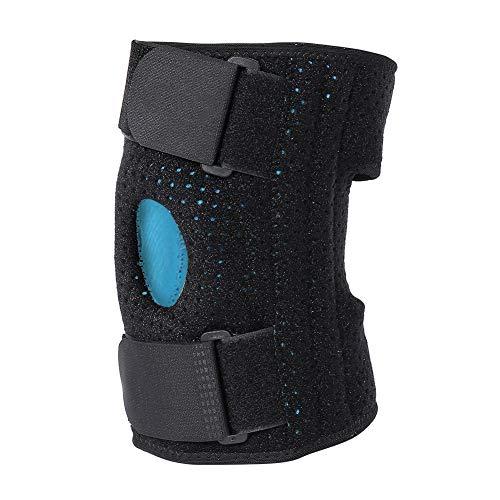 Kniebrace voor knieschijf en banden – bandage ter ondersteuning van de knies, voor sport, kniesteun met ring, stabilisator met kogelgewricht – herstel van letsel en pijn (01# links)