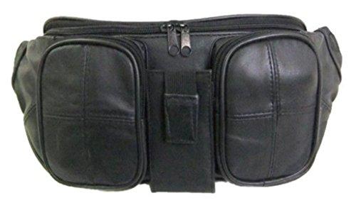 ラム革 ウエストポーチ 羊革製 ウエストバッグ 多機能デザイン