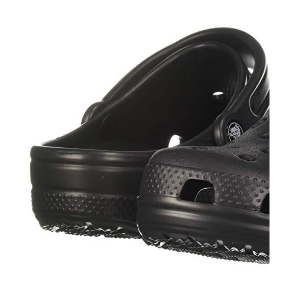 Crocs Baya Clog, Black, 10 Women/8 Men