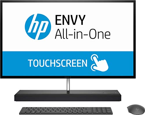 "HP Envy All-in-One 7VL03EA - Ordenador Todo en uno de 27"" 4K (Intel Core i7-9700T, 16 GB RAM, 512 GB SSD, HDD de 1 TB, Intel UHD Graphics 630, Windows 10 Home) Blanco Nieve"