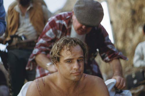 Marlon Brando in One-Eyed Jacks Shirtless Bare Chested on set 11x17 Mini Poster