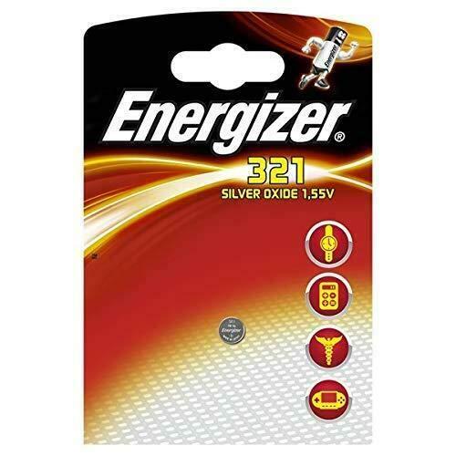 Energizer SR321Silber-Oxid Knopfzelle Akku