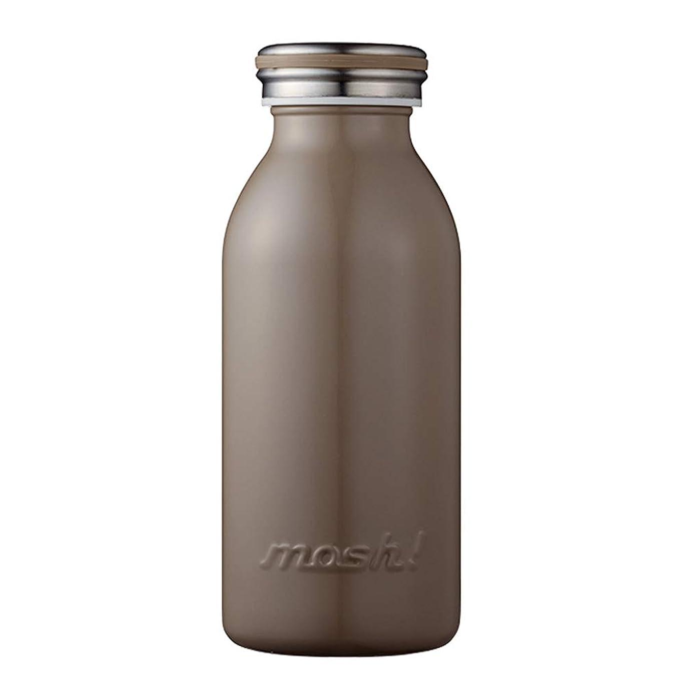 猫背宣教師寛大なmosh! (モッシュ!) ミルクAIRボトル 350ml DMKB350 (ブラウン)