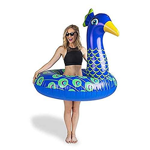 BigMouth Inc Flotador Gigante de Pavo Real para Piscina