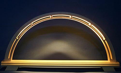 LED Schwibbogen Leerbogen groß 62cm x 30cm modern unbestückt Erzgebirge