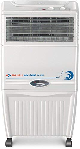 Bajaj TC2007 37-Litre Tower Air Cooler (White)- for Medium Room