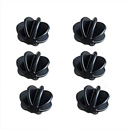 Plastic Blending Mixing Ball Bottle Balls for Sports Drink Protein Shaker Cup Bottle Mixers Better Than Wire Whisk (6 pc)