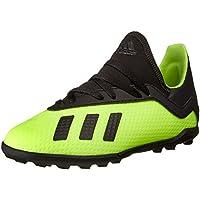 adidas X Tango 18.3 TF, Zapatillas de Fútbol para Niños, Amarillo (Solar Yellow/Core Black/Solar Yellow 0), 38 EU