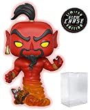 Funko Pop! Disney: Aladdin - Red Jafar Come Genie Limited Edition Chase Variant Vinyl Figure (in Bundle con Pop Box Protector Case)