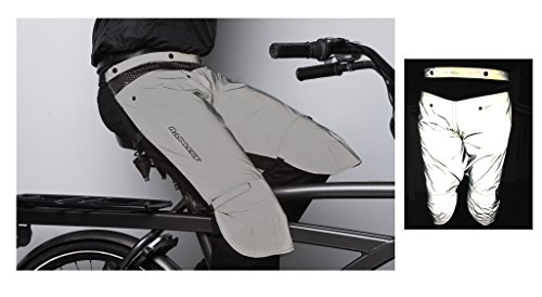 Rainlegs protector pierna bicicleta protección Lluvia refle