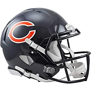 Riddell NFL Chicago Bears Speed Authentic Football Helmet